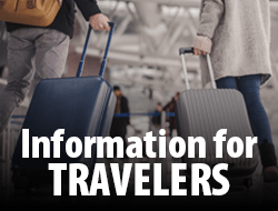 Information for Travelers Link