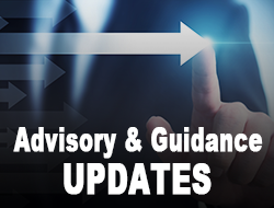 Advisory and Guidance Updates Link