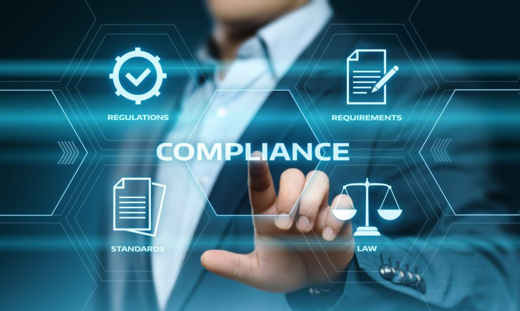 Compliance rules policy concept