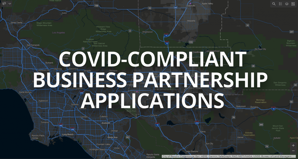 Covid-Compliant Business Partnership Applications